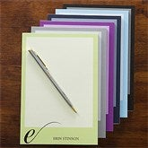 Stylish Monogram Personalized Notepad - 12264