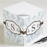 Trendy Signature Personalized Paper Note Cube - 12268