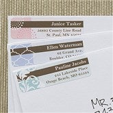 Trendy Signature Return Address Labels - 12292
