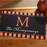 Halloween Spirit Personalized Doormat - 12297