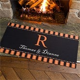Halloween Spirit Personalized Oversized Doormat - 12297-O
