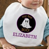 My First Boo Personalized Infant Bib - 12313-B
