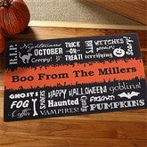 Boo From... Personalized Doormat - 12314