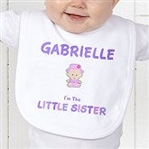 Sister Character© Personalized Bib - 12315-B