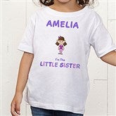 Sister Character© Personalized Toddler T-Shirt - 12315TT
