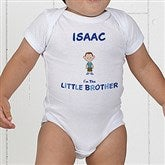 Brother Character Personalized Colored Baby Bodysuit - 12316-CBB