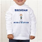 Brother Character© Colored Toddler Hooded Sweatshirt - 12316-CTHS