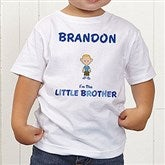 Brother Character Personalized Toddler T-Shirt - 12316-TT