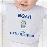 Brother Character© Personalized Baby Bib - 12316-B
