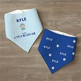 Brother Character© Personalized Bandana Bibs- Set of 2 - 12316-BB