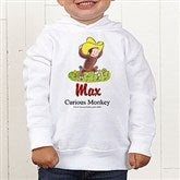 Curious George® Toddler Hooded Sweatshirt - 12317THS