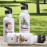 Curious George® Personalized Water Bottle - 12318