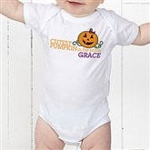 Cutest Pumpkin In The Patch Personalized Baby Bodysuit - 12327-CBB