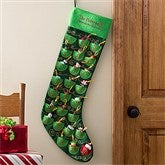 Christmas Countdown Embroidered Oversized Stocking