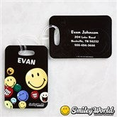 SmileyWorld® Personalized Bag Tag Set - 12338