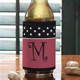Dot to Dot Personalized Rhinestone Can & Bottle Wrap - 12357