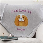 Top Dog Owners Personalized Sweatshirt Blanket - 12362