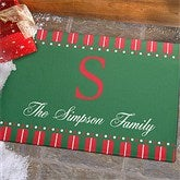 Christmas Spirit Personalized Standard Doormat - 12367-S