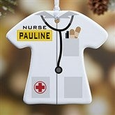 1-Sided Medical Uniform Personalized Ornament - 12377-1