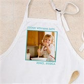 Picture Perfect Personalized Apron - One Photo - 12384-1