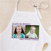Picture Perfect Personalized Apron - Two Photo - 12384-2