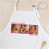 Picture Perfect Personalized Apron - Three Photo - 12384-3