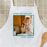 Picture Perfect Personalized Apron - One Photo - 12384-1A