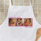 Picture Perfect Personalized Apron - Three Photo - 12384-3A