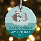 Warm & Cozy Personalized Ornament - 12390