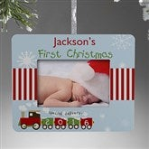 First Christmas Personalized Mini-Frame Ornament