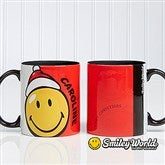 SmileyWorld® Personalized Christmas Mug - 12406