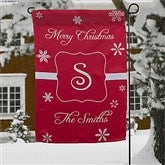 Winter Wonderland Personalized Garden Flag - 12407