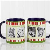 Christmas Photo Message Personalized Coffee Mug 11oz.- Blue - 12409-BL