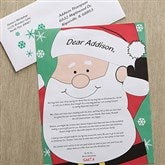 Santa's Watching Personalized Letter From Santa - 12410