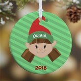 1-Sided Christmas Character Personalized Ornament - 12411-1