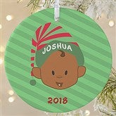 1-Sided Christmas Character Personalized Ornament-Large - 12411-1L