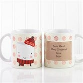 Marshmallow Personalized Mug & Hot Cocoa- 11 oz. - 12412-S