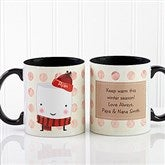 Marshmallow Personalized Mug 11oz.- Black - 12412-B
