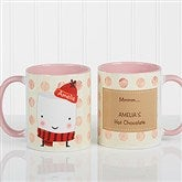 Marshmallow Personalized Mug 11 oz.- Pink - 12412-P