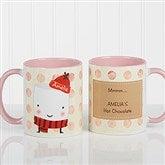 Marshmallow Personalized Mug 11 oz.- Pink - 12412-P