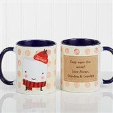 Marshmallow Personalized Mug 11 oz.- Red - 12412-R