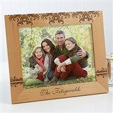 Damask Personalized Family Frame- 8 x 10 - 12415-L