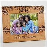 Damask Personalized Family Frame- 5 x 7 - 12415-M