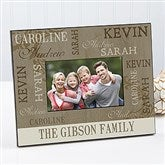 Our Loving Family Personalized Photo Frame - 12416