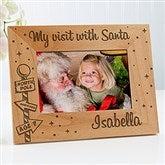 Santa & Me Personalized Frame- 4x6 - 12419