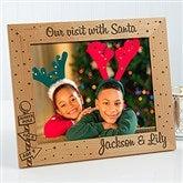 Santa & Me Personalized Frame- 8 x 10 - 12419-L