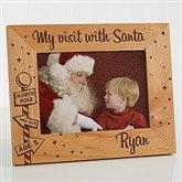Santa & Me Personalized Frame- 5 x 7 - 12419-M