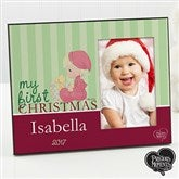 Precious Moments® Personalized Baby Christmas Frame - 12462