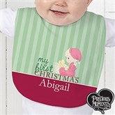 Precious Moments® Personalized Christmas Baby Bib - 12463-B