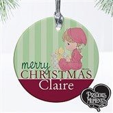 Precious Moments® Personalized Baby Christmas Ornament - 12464